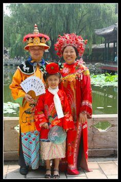 Foto chinese familie, Liaoning Door: ruurd