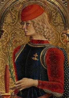 Carlo Crivelli - Polittico di Sant'Emidio, 1473 (detail) Duomo, Ascoli Piceno