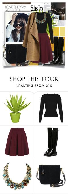 """""""SheIn III/9"""" by zenabezimena ❤ liked on Polyvore featuring Chanel, Shin Choi, Stray Dog Designs, Sheinside and topset"""