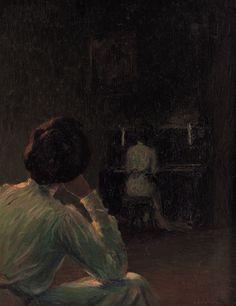 Lionello Balestrieri, Lezioni di Piano.