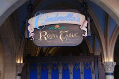 Walt Disney World - Magic Kingdom - Cinderella's Royal Table