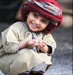 Cute little Omani kid