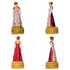 """La Emperatriz Josefina (Colección de Altaya """"Ajedrez de Napoleón - Austerlitz"""". ) Subido desde www.elgrancapitan.org"""