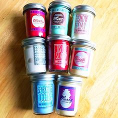 Holiday candles from Bath and Body Works