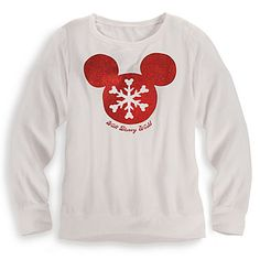 Mickey Mouse Icon Tee for Women - Walt Disney World - Holiday | Tees, Tops & Shirts | Disney Store