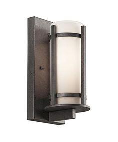 Kichler 49119 Camden 1 Light Outdoor Wall Light