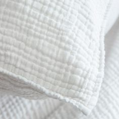 Textured Bedding, Bed Pillows, Pillow Cases, Quitter, Linens, Collection, Products, White Duvet Covers, Bedding