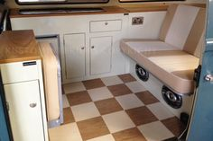 T2 Bay interiors are just one of the camper interior conversions Kustom…