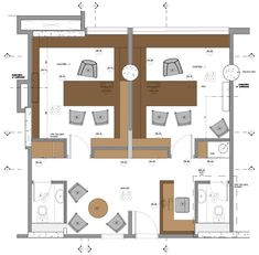 office furniture – My WordPress Website Office Floor Plan, Floor Plan Layout, Interior Design Classes, Office Interior Design, Workspace Design, Office Workspace, Corporate Interiors, Office Interiors, Office Cube
