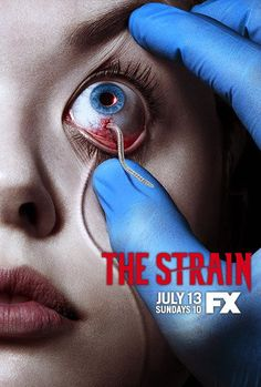 The Strain (TV Series 2014–XXXX ) Okay so this is technically a series, but it's Guillermo de Toro directing a series based off of a book he co-wrote under the same name. It's something for thriller and horror fans so I'll be tuning in.