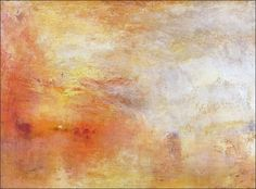 Scumbling how-to for adding texture to paintings. Work by William Turner Margate, from the Sea about 1835-40, Oil / Canvas