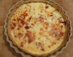 Najbolji domaći recepti za pite, kolače, torte na Balkanu Bacon And Cheese Quiche, Soggy Bottom, Grated Cheese, Different Recipes, Flan, Brunch, Healthy Recipes, Baking, Breakfast