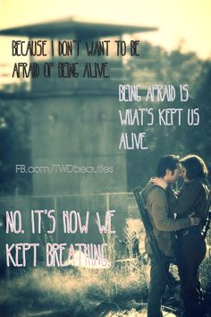 Maggie & Glenn - The Walking Dead