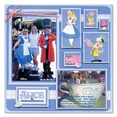 Disney scrapbook ideas  | scrapbooking Ideas