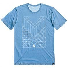DC Shoes Mayan SS heather spark blue tee-shirt de skate 32,00 € #dc #dcshoes…