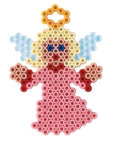 Kit di Natale - Angeli midi Hama Beads perline da stirare