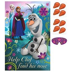 """Disney Frozen Birthday Party Game Activity Supplies (8 Pack), Multi Color, 37 1/2 x 24 1/2"""". - http://www.partythings.com/disney-frozen-birthday-party-game-activity-supplies-8-pack-multi-color-37-12-x-24-12.html"""