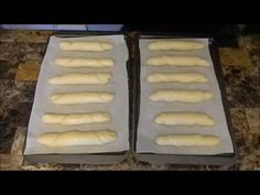 Slané rožky - YouTube Russian Recipes, Cooking, Breads, Youtube, Polish, Food, Russian Foods, Food Food, Kitchen