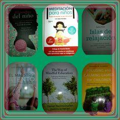 Unos libros para padres y/o profesores que quieren iniciar a sus hij@s o alumn@s a la práctica Mindfulness