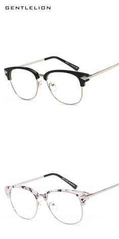 a8f5699912 Fashion Half Frame Brand Design Vintage Grade Lazy Eyewear Frames Optical  Frame Eye Glasses Frames for