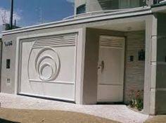 fachadas de casas com portão basculante - Pesquisa Google