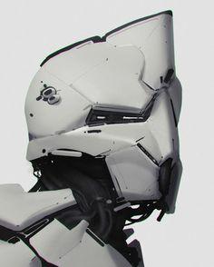 #scifi #robot #cyborg.   Visit http://digitalart.io for more digital art.