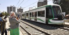 Addis Ababa is home to sub-Saharan Africa's first light rail system