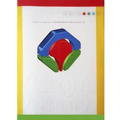 Diseño de portada Memoria corporativa. Cliente: Parque Arauco
