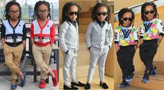 Ebal's Blog: Schwagg!! M&D Twins Toddler Fashion Of The Day