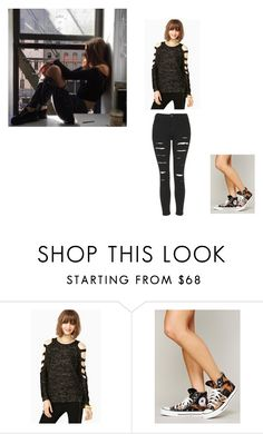 """""""Untitled #2368"""" by aamirisplond ❤ liked on Polyvore featuring GET LOST, Free People and Topshop"""