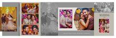 18 Sensational Wedding Album White Wedding Album No Pockets Wedding Album Cover, Wedding Album Layout, Wedding Photo Albums, Indian Wedding Album Design, Wedding Designs, Memories Photo Album, Album Cover Design, Wedding Background, Book Design