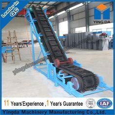 Large angle skirt board belt conveyor (DJ) - China skirt board belt conveyor, Yingda