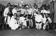 Clowning in the barracks, undated. One of the clowns is wearing a Hitler moustache. Could it be that he ridicules the Fuehrer? This was a hanging offense in those days. If indeed the spoof included a Hitler part, this was a brave bunch of conscripts.