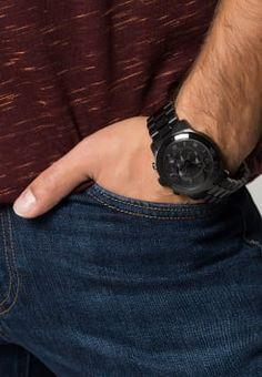 Michael Kors - RUNWAY - Zegarek chronograficzny - schwarz