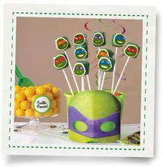 Teenage Mutant Ninja Turtles Marshmallow Pops How-To - Party City