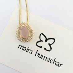 Quartzo rosa!!! #mairabumachar #colar  www.mairabumachar.com.br #lojapraiadocanto #vix #showroomsp #VilaMadalena  #pedidosporwhatsapp (11)997440079
