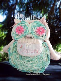 Il giardino incantato di Alice: Owl... una gufetta di pannolini
