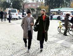 The New York Times Fashion. Street Style Pitti Uomo in Florens. January 2015.