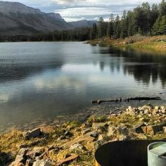 Haviland lake is North of Durango    and is the perfect place to set up camp and enjoy the glassy water! #lakes #camping #travel