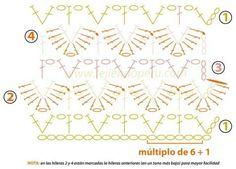 Ideas para el hogar: 10 Prendas en dos agujas y crochet para el hogar y buen vestir todo con moldes gratis