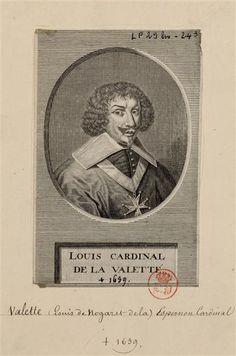 Louis de Nogaret de La Valette d'Épernon (1593-1639), cardinal
