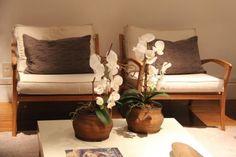 Arranjo Orquídeas artificial