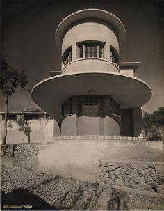 1931-33 Magazzini di casermaggio al Foro Mussolini, Roma, arch. Enrico Del Debbio