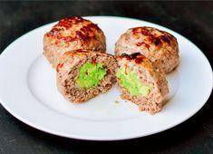 Avocado-Stuffed Meatballs  #FoodRepublic