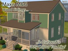 JodelieJodelie's Sims Stuff - For 100 Old Farm Road wcif 1) the siding set with...
