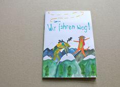 """Reisetagebuch - """"Wir fahren Weg!"""" von Irina Mmurs Things auf DaWanda.com"""