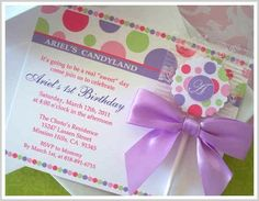 Candy Invitations Over 1000 designs for invites 24 by candybloom