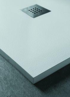 Solution - Piatti doccia su misura in Mineral Marmo   Azzurra Ceramica S.p.A.