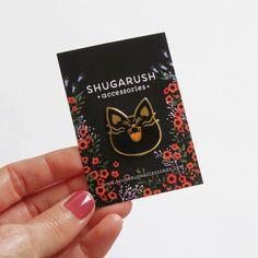 Black Mad Military Cat Enamel Pin – Shugarush Accessories