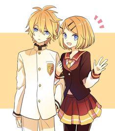 Vocaloid - Kagamine Len & Kagamine Rin
